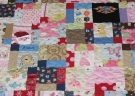 Square pattern baby onesies outfits quilt