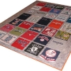 Major League Baseball Stadium Tour T Shirt Memory quilt