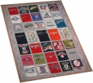 MLB Stadium Tour T Shirt quilt