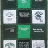 Parochial School Cross Country T Shirt Quilt