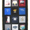 College Sorority T Shirt Memory quilt
