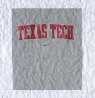 Texas Tech College Campus T-Shirt Quilt Panel