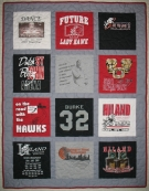 Hiland Ohio Girls State Champs T Shirt Memory quilt