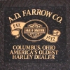 Columbus Ohio harley Davidson T-Shirt Quilt Panel