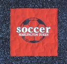 Marlington Soccer T shirt quilt panel