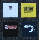 Various Soccer T Shirt quilt panels