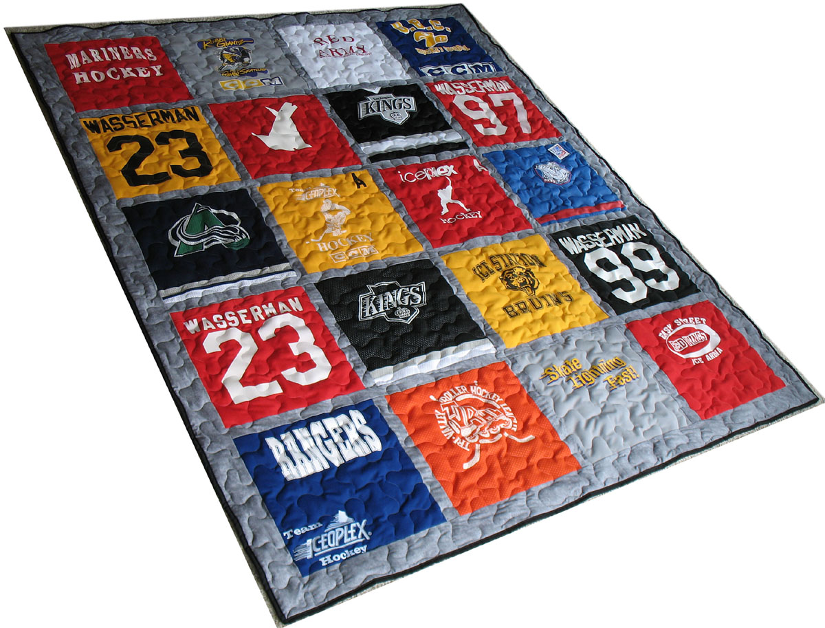 Quilt Gallery Quilts Made From T Shirts Images Of Quilts