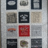 New York Yankee T Shirt Memory quilt