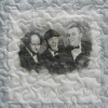 Three Stooges T Shirt Memory quilt panel